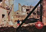 Image of damaged buildings in Leipzig Leipzig Germany, 1945, second 6 stock footage video 65675036086
