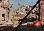 Image of damaged buildings in Leipzig Leipzig Germany, 1945, second 8 stock footage video 65675036086