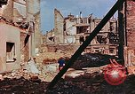 Image of damaged buildings in Leipzig Leipzig Germany, 1945, second 9 stock footage video 65675036086