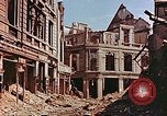 Image of damaged buildings in Leipzig Leipzig Germany, 1945, second 11 stock footage video 65675036086