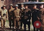 Image of American and Russian military officials meet Torgau Germany, 1945, second 5 stock footage video 65675036088