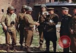 Image of American and Russian military officials meet Torgau Germany, 1945, second 9 stock footage video 65675036088