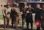 Image of American and Russian military officials meet Torgau Germany, 1945, second 10 stock footage video 65675036088
