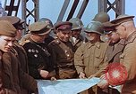 Image of American and Russian military officials meet Torgau Germany, 1945, second 6 stock footage video 65675036089