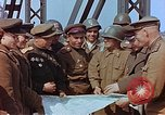 Image of American and Russian military officials meet Torgau Germany, 1945, second 7 stock footage video 65675036089
