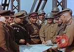 Image of American and Russian military officials meet Torgau Germany, 1945, second 8 stock footage video 65675036089