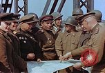 Image of American and Russian military officials meet Torgau Germany, 1945, second 9 stock footage video 65675036089