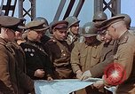 Image of American and Russian military officials meet Torgau Germany, 1945, second 10 stock footage video 65675036089