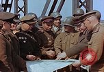 Image of American and Russian military officials meet Torgau Germany, 1945, second 11 stock footage video 65675036089