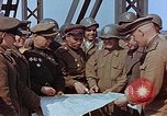 Image of American and Russian military officials meet Torgau Germany, 1945, second 12 stock footage video 65675036089
