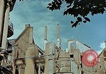 Image of demolition of buildings in post war Germany Leipzig Germany, 1945, second 8 stock footage video 65675036092