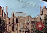 Image of damaged buildings Leipzig Germany, 1945, second 1 stock footage video 65675036094