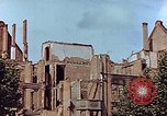 Image of damaged buildings Leipzig Germany, 1945, second 2 stock footage video 65675036094
