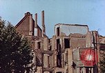 Image of damaged buildings Leipzig Germany, 1945, second 3 stock footage video 65675036094