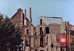 Image of damaged buildings Leipzig Germany, 1945, second 4 stock footage video 65675036094