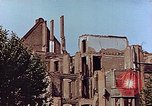 Image of damaged buildings Leipzig Germany, 1945, second 5 stock footage video 65675036094