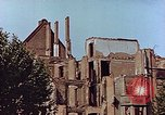 Image of damaged buildings Leipzig Germany, 1945, second 6 stock footage video 65675036094