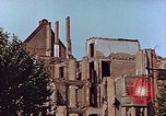 Image of damaged buildings Leipzig Germany, 1945, second 7 stock footage video 65675036094