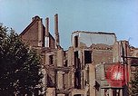 Image of damaged buildings Leipzig Germany, 1945, second 8 stock footage video 65675036094