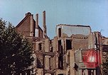 Image of damaged buildings Leipzig Germany, 1945, second 9 stock footage video 65675036094
