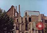Image of damaged buildings Leipzig Germany, 1945, second 10 stock footage video 65675036094