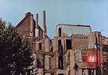 Image of damaged buildings Leipzig Germany, 1945, second 11 stock footage video 65675036094