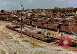 Image of destroyed marshaling yard Cologne Germany, 1945, second 10 stock footage video 65675036096