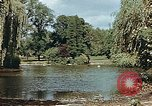 Image of pond in public park Cologne Germany, 1945, second 3 stock footage video 65675036099