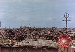 Image of destroyed marshaling yard Germany, 1945, second 10 stock footage video 65675036100