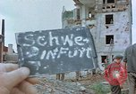 Image of German prisoners Schweinfurt Germany, 1945, second 3 stock footage video 65675036104
