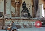 Image of Feldherrnhalle at end of  World War II in Europe Munich Germany, 1945, second 10 stock footage video 65675036112
