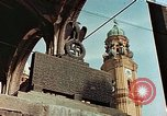 Image of damaged Church of Two Towers Munich Germany, 1945, second 1 stock footage video 65675036113