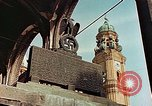 Image of damaged Church of Two Towers Munich Germany, 1945, second 2 stock footage video 65675036113
