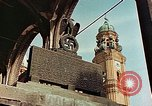 Image of damaged Church of Two Towers Munich Germany, 1945, second 3 stock footage video 65675036113