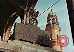 Image of damaged Church of Two Towers Munich Germany, 1945, second 5 stock footage video 65675036113