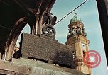 Image of damaged Church of Two Towers Munich Germany, 1945, second 6 stock footage video 65675036113