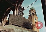 Image of damaged Church of Two Towers Munich Germany, 1945, second 7 stock footage video 65675036113