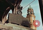 Image of damaged Church of Two Towers Munich Germany, 1945, second 8 stock footage video 65675036113
