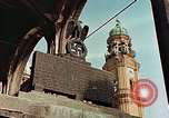Image of damaged Church of Two Towers Munich Germany, 1945, second 10 stock footage video 65675036113
