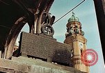 Image of damaged Church of Two Towers Munich Germany, 1945, second 11 stock footage video 65675036113
