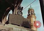Image of damaged Church of Two Towers Munich Germany, 1945, second 12 stock footage video 65675036113