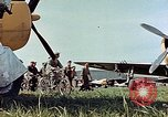 Image of Personnel of 362nd Fighter walking past camera  Illesheim Germany, 1945, second 6 stock footage video 65675036115