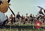 Image of Personnel of 362nd Fighter walking past camera  Illesheim Germany, 1945, second 9 stock footage video 65675036115