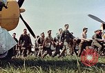 Image of Personnel of 362nd Fighter walking past camera  Illesheim Germany, 1945, second 10 stock footage video 65675036115