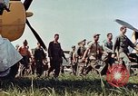 Image of Personnel of 362nd Fighter walking past camera  Illesheim Germany, 1945, second 11 stock footage video 65675036115