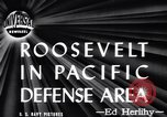 Image of President Roosevelt Hawaii USA, 1944, second 12 stock footage video 65675036120