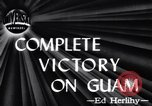 Image of Victory on Guam Guam, 1944, second 1 stock footage video 65675036121