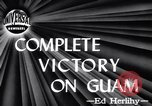 Image of Victory on Guam Guam, 1944, second 3 stock footage video 65675036121