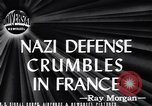 Image of Nazi Defense Crumbles in France France, 1944, second 2 stock footage video 65675036122