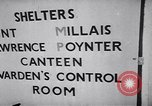 Image of British bomb shelter London England United Kingdom, 1944, second 9 stock footage video 65675036123